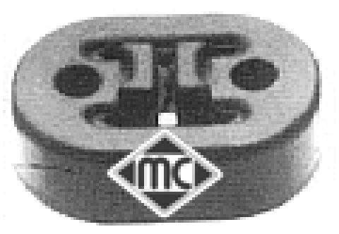 Silentblocs d'echappement Metalcaucho 02726 (X1)