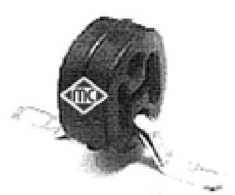Silentblocs d'echappement Metalcaucho 02735 (X1)