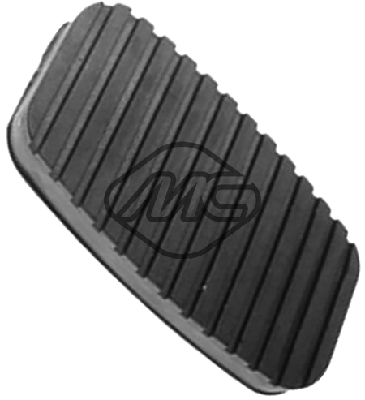 Couvre pedale Metalcaucho 02772 (X1)