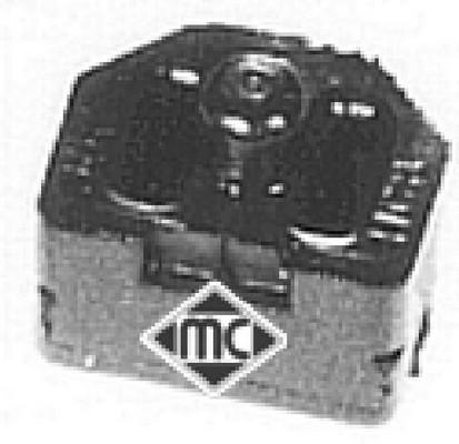 Silentblocs de radiateur Metalcaucho 02845 (X1)