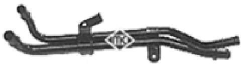 Durites radiateur Metalcaucho 03111 (X1)