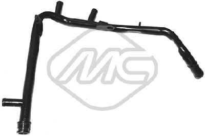 Durites radiateur Metalcaucho 03189 (X1)