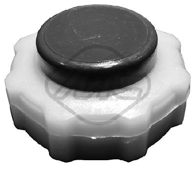 Bouchon, reservoir de liquide de refroidissement Metalcaucho 03514 (X1)