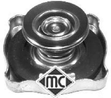 Bouchon, reservoir de liquide de refroidissement Metalcaucho 03607 (X1)