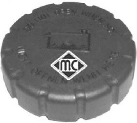 Bouchon, reservoir de liquide de refroidissement Metalcaucho 03660 (X1)