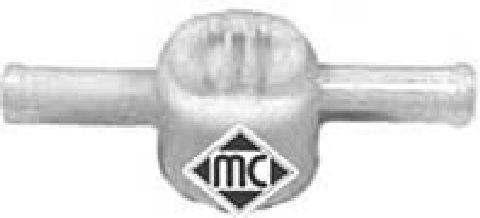 Filtre a carburant Metalcaucho 03672 (X1)