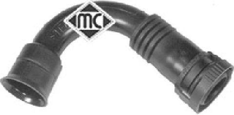 Tube ventilation carter moteur Metalcaucho 03722 (X1)