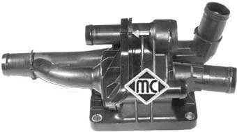 Pieces de thermostat Metalcaucho 03776 (X1)