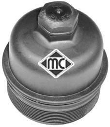 Boitier de filtre a huile Metalcaucho 03815 (X1)