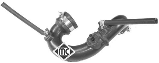 Durite turbo Metalcaucho 03826 (X1)