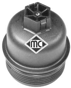 Boitier de filtre a huile Metalcaucho 03838 (X1)