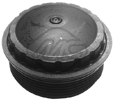 Boitier de filtre a huile Metalcaucho 03840 (X1)