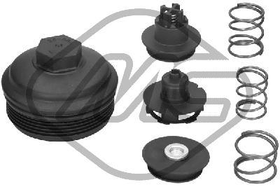 Boitier de filtre a huile Metalcaucho 03841 (X1)