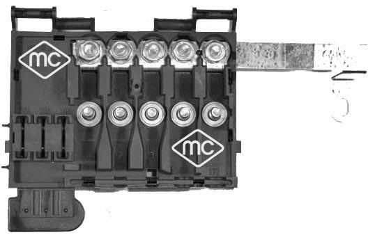 Boite a fusible Metalcaucho 03888 (X1)