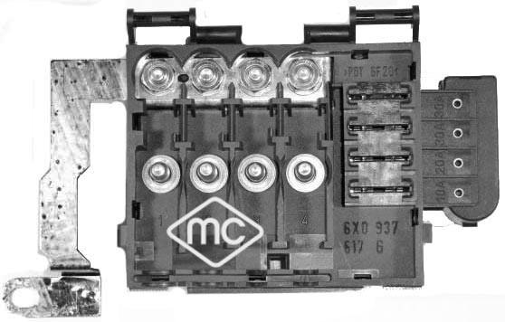 Boite a fusible Metalcaucho 03889 (X1)