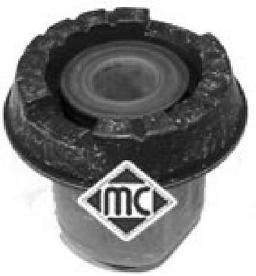Silentbloc de support essieu Metalcaucho 04078 (X1)