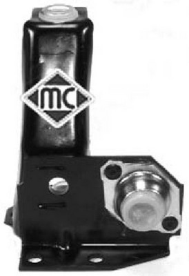 Silentblocs de support de boite de vitesse manuelle Metalcaucho 04184 (X1)