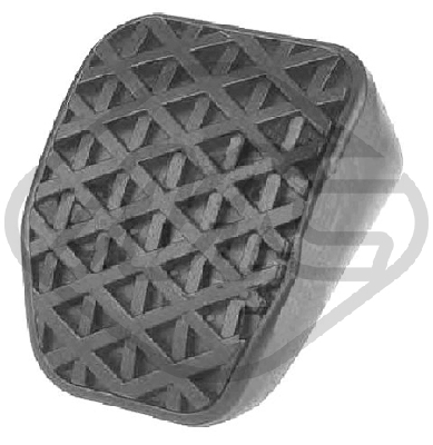 Couvre pedale Metalcaucho 04230 (X1)