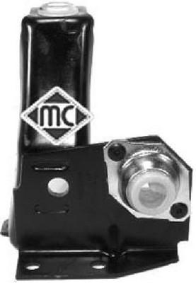 Silentblocs de support de boite de vitesse manuelle Metalcaucho 04361 (X1)