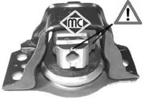 Support moteur/boite/pont Metalcaucho 04638 (X1)