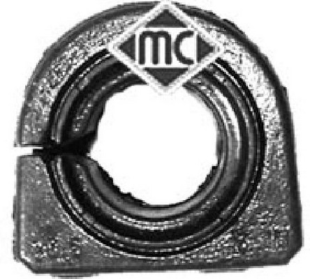 Silentbloc de stabilisateur Metalcaucho 04661 (X1)