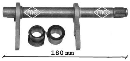 Embrayage, boite de vitesse, cardans Metalcaucho 05708 (X1)