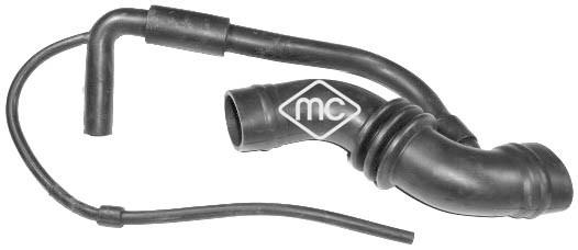 Tuyau d'aspiration, alimentation d'air Metalcaucho 05730 (X1)