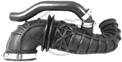 Tuyau d'aspiration, alimentation d'air Metalcaucho 05947 (X1)