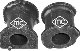 Silentbloc de stabilisateur Metalcaucho 05980 (X1)