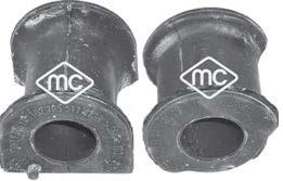 Silentbloc de stabilisateur Metalcaucho 05981 (X1)