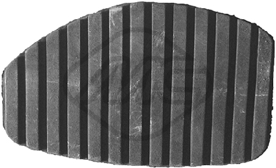 Couvre pedale Metalcaucho 06184 (X1)