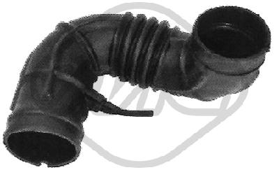 Tuyau d'aspiration, alimentation d'air Metalcaucho 06502 (X1)
