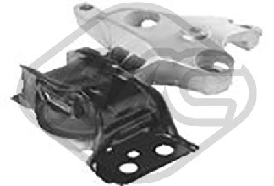 Support moteur/boite/pont Metalcaucho 06812 (X1)