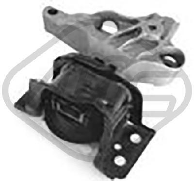 Support moteur/boite/pont Metalcaucho 06814 (X1)