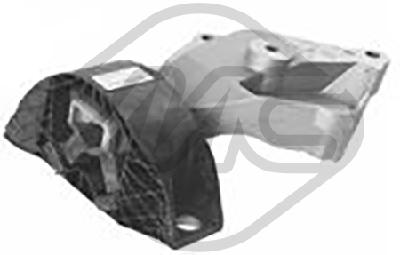 Support moteur/boite/pont Metalcaucho 06816 (X1)