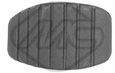 Couvre pedale Metalcaucho 06818 (X1)