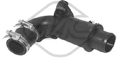 Durite turbo Metalcaucho 06868 (X1)