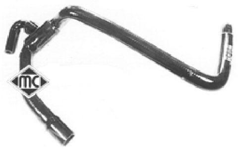 Durites radiateur Metalcaucho 08285 (X1)