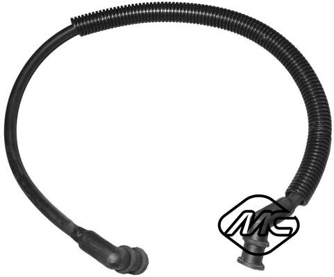Tuyau d'aspiration, alimentation d'air Metalcaucho 08323 (X1)