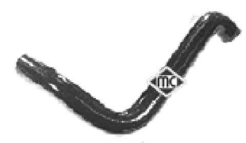 Durites radiateur Metalcaucho 08332 (X1)