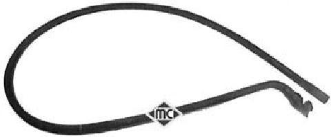 Durites radiateur Metalcaucho 08548 (X1)