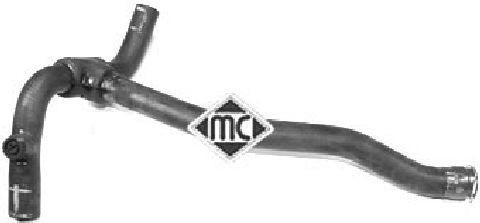 Durites radiateur Metalcaucho 08685 (X1)