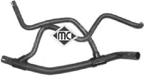 Durites radiateur Metalcaucho 08885 (X1)