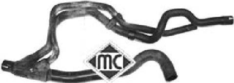 Durites radiateur Metalcaucho 08917 (X1)
