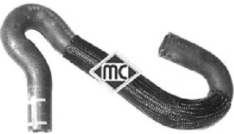 Durites radiateur Metalcaucho 08944 (X1)