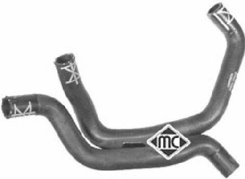 Durites radiateur Metalcaucho 09048 (X1)