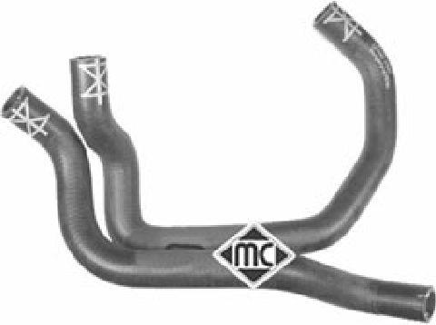 Durites radiateur Metalcaucho 09049 (X1)