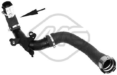 Durite turbo Metalcaucho 09850 (X1)