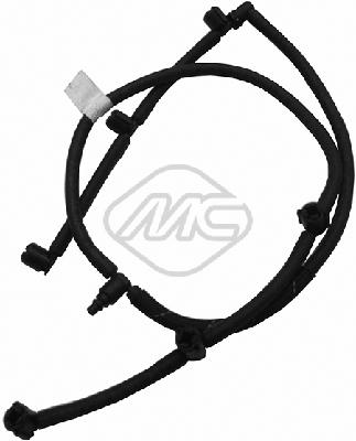 Tuyau de carburant de fuite injecteur Metalcaucho 33004 (X1)