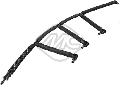 Tuyau de carburant de fuite injecteur Metalcaucho 33022 (X1)